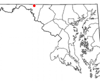 Location of Maugansville, Maryland