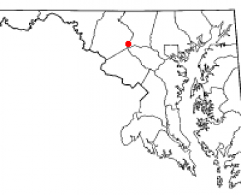 Location of Mount Airy, Maryland