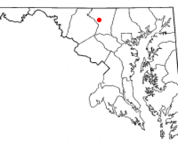 Location of New Windsor, Maryland