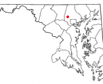 Location of Owings Mills, Maryland