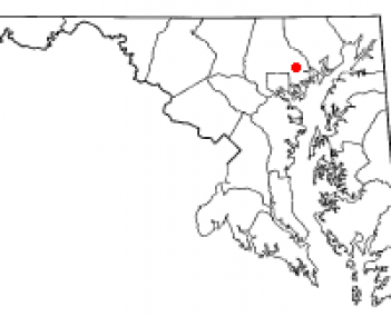 Location of Germantown, Maryland