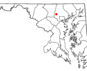 Location of Reisterstown, Maryland