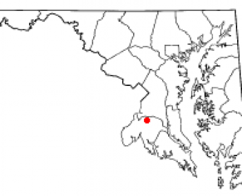 Location of Waldorf, Maryland