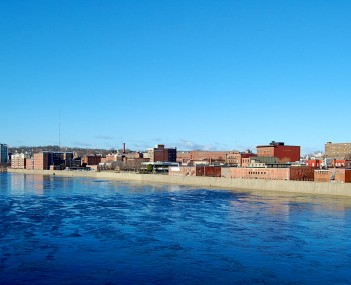 Haverhill from across the Merrimack River