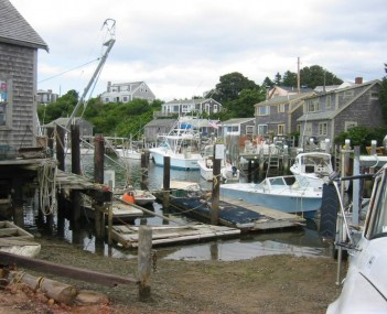 View of Menemsha