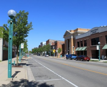 Downtown Adrian Michigan- Maumee Street