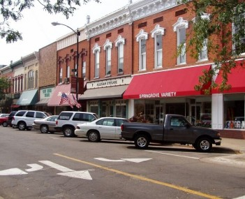 Allegan Michigan main street