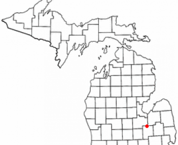 Location of Vienna Township within Genesee County, Michigan