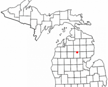 Location of Roscommon, Michigan