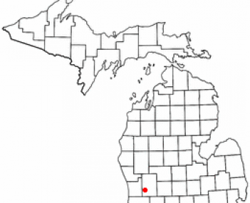 Location of Wyoming, Michigan