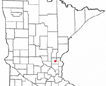 Location of Cambridge, Minnesota