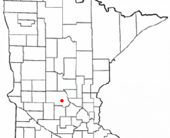 Location of Cold Spring, Minnesota