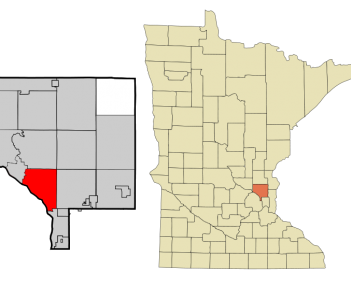 within Anoka County, Minnesota