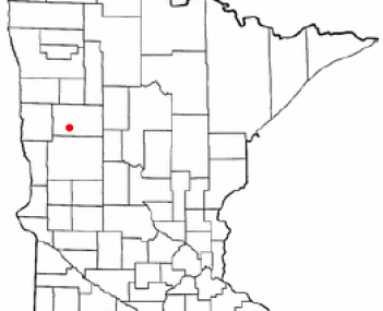 Location of Detroit Lakes, Minnesota