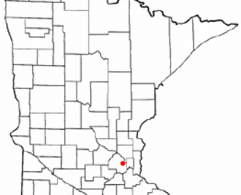 Location of Golden Valley, Minnesota