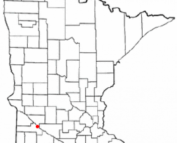 Location of Granite Falls, Minnesota