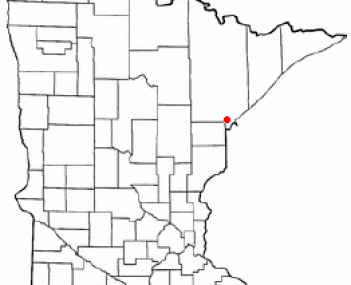 Location of Hermantown, Minnesota