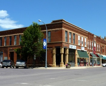 The Main Street Commercial Buildings district is on the National Register of Historic Places