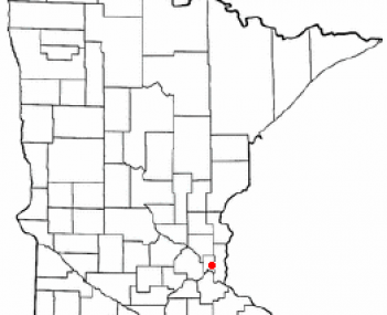 Location of Maplewood, Minnesota