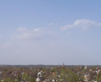 Panoramic view of New Ulm