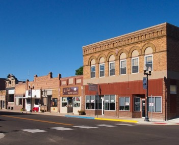 Ortonville's historic downtown