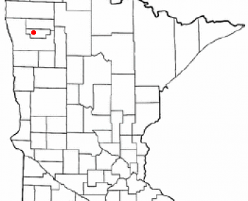 Location of Red Lake Falls, Minnesota