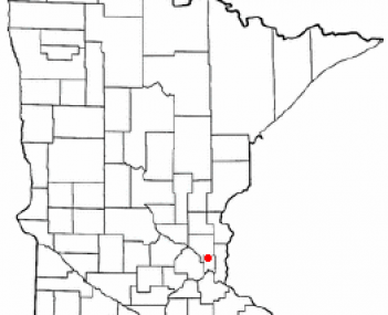 Location of Shoreview, Minnesota