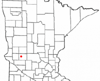 Location of Starbuck, Minnesota