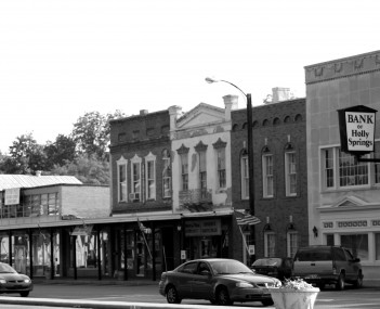 Business District of Holly Springs