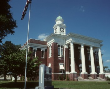Attala County Mississippi Courthouse