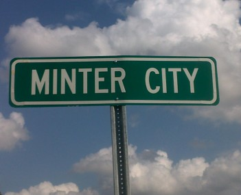 View of Minter City