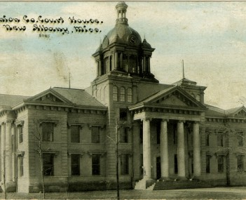 Union County Courthouse in New Albany