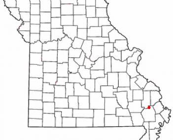 Location of Advance, Missouri
