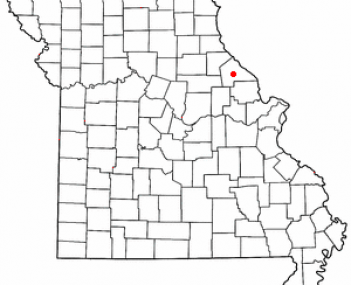 Location of Bowling Green, Missouri