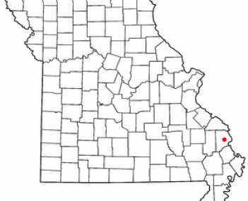 Location of Jackson, Missouri