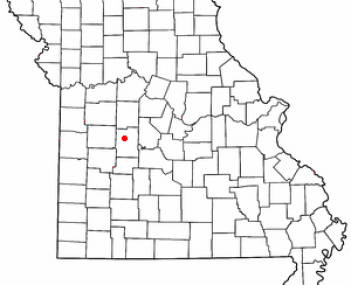 Location of Lincoln, Missouri