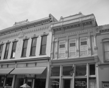 Downtown buildings in Louisiana