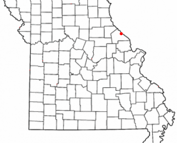 Location of Louisiana, Missouri