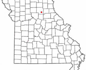Location of Macon, Missouri