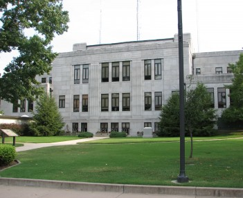 Newton County Courthouse, 2006