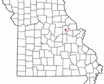 Location of New Florence, Missouri
