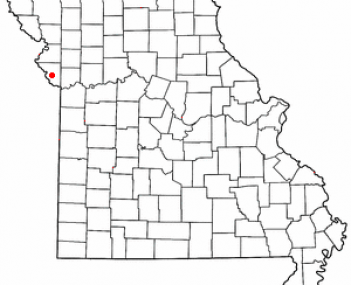 Location of Platte City, Missouri