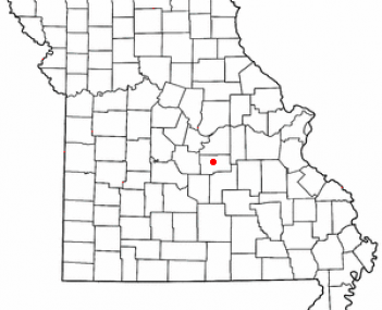 Location of Vienna, Missouri