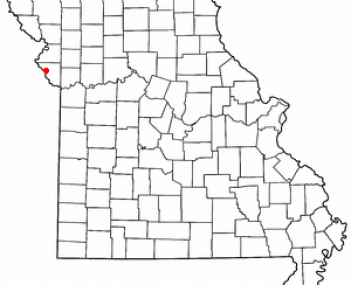 Location of Weston, Missouri