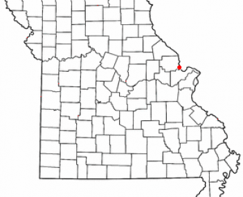 Location of Winfield, Missouri