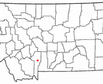 Location of Bozeman, Montana