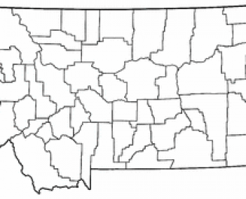 Location of Ekalaka, Montana