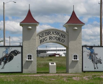 Burwell rodeo grounds gate 3