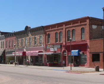 The Chadron Commercial Historic District is listed in the National Register of Historic Places.