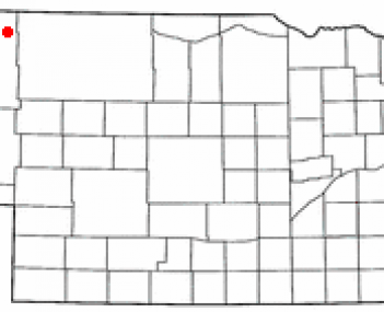 Location of Gordon, Nebraska